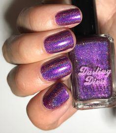 My Nail Polish Obsession: Darling Diva Polish Holo-Manics Group Custom #17 -...