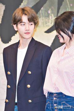 Baekhyun - 160824 'Scarlet Heart: Ryeo' press conference Baekhyun Chanyeol, Drama Korea, Korean Drama, Moon Lovers Drama, Song Hye Kyo, K Pop Star, Kdrama Actors, Korean Star, Chanbaek