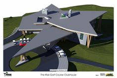 Samuelson Timberframe Design Inc - West Coast Contemporary - The Rise Golf Course Clubhouse Construction Drawings, Timber Frame Homes, Poker Table, West Coast, Golf Courses, House Design, Contemporary, Studio, Home Decor