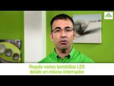 Cómo colocar un regulador de luz para led (Leroy Merlin) - YouTube