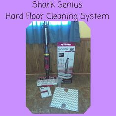 Keeping My New Year Clean With Shark Genius Hard Floor Cleaning System