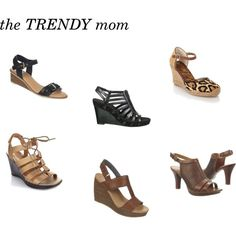 Spring shoes for the trendy mom by thehousewife on Polyvore