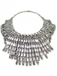 TOM BINNS Massai Crystal Necklace by Tom Binns