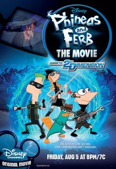 Phineas and Ferb the Movie: Across the 2nd Dimension (TV 2011)