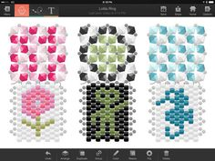 Perl'Art by Lysann Lamontagne App Store, Ipod Touch, Beading Patterns, Software, Ipad, Make It Yourself, Iphone, Art, Art Background