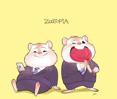 Zootopia hamsters