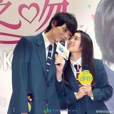 Mischievous Kiss: Love In Tokyo - 2013 Honoka Miki and Yuki Furukawa Itazura Na Kiss, Yuki Furukawa, Kdrama, Playful Kiss, Japanese Drama, Teen Posts, Actors & Actresses, Tokyo, Album