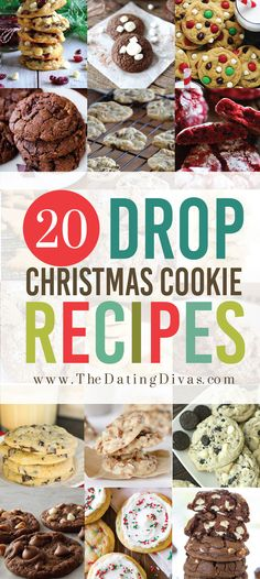 of the BEST Christmas Cookie Exchange Recipes The BEST Drop Cookies Recipes! Especially for an exchange party!The BEST Drop Cookies Recipes! Especially for an exchange party! Christmas Cookie Exchange, Best Christmas Cookies, Christmas Sweets, Christmas Cooking, Noel Christmas, Holiday Cookies, Holiday Baking, Holiday Treats, Christmas Desserts