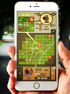 Dog Planet (Planetboard, FI) - upcoming dog walking GPS game for iOS