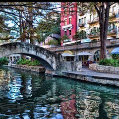 The River Walk in San Antonio, Texas best Mexican restaurants a very cool place to see!!!