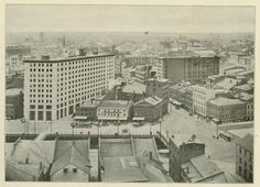View of downtown, c1908