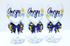 I just need to know why these wine glasses exist for a dry sorority Alpha Phi Omega, Alpha Xi Delta, Big Little Week, Brotherly Love, Sorority Life, Paddles, Greek Life, Fraternity, Homemaking