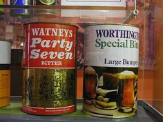 Party 7 beer cans Come and see our new website at bakedcomfortfood.com!