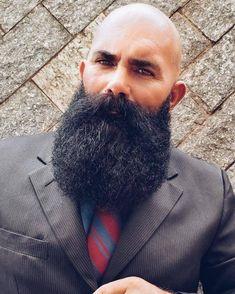 Mostly Beard Stuff.and A Few Cigars Beard Head, Long Hair Beard, Beard Game, Epic Beard, Bald With Beard, Bald Men, Hairy Men, Beard No Mustache, Beard Styles