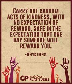 Reward Yourself, Acting