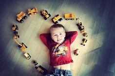 Perfect boy photo.This says Colin all over it but he wouldn't lay down! haha! Great Idea for Valentines day!