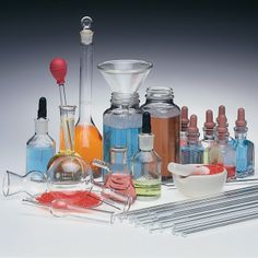 Advanced Labware Science Fair Set (61 Pieces)