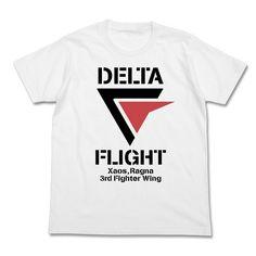 Macross Delta Delta Flight T-shirt (WHITE) (M)