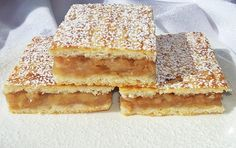 Hungarian Desserts, Hungarian Cake, Hungarian Recipes, Russian Recipes, Good Food, Yummy Food, Eat Seasonal, Baking And Pastry, Sweet And Salty