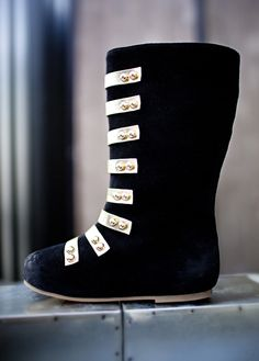 Sloan in Black ~ Boots for toddler, girls and women. {JoyFolie}