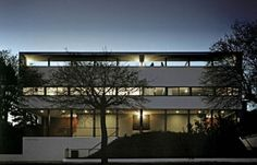 Corbusier exhibition house in Stuttgart is part of the Weissenhof Museum.  A treat from modern architecture lovers.