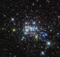 Hubble Hones In on a Hypergiant's Home The super star cluster Westerlund 1 only 15000 light-years away in our Milky Way neighborhood hosts one of the largest stars ever discovered.