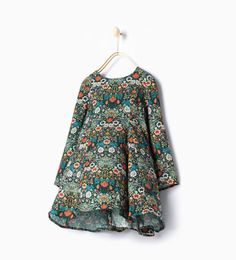 Floral print dress-Casual-Dresses and Jumpsuits-Girl-Kids | 4-14 years-KIDS | ZARA United States