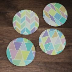 Pastel gorgeousness with a hint of geometry ;) www.neonpear.com