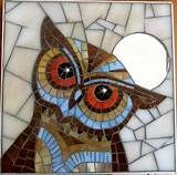 Mosaic owl | owls uilen vogels | Pinterest #StainedGlassOwl