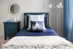 Beach Boy's Bedroom » Natalie Fuglestveit Interior Design