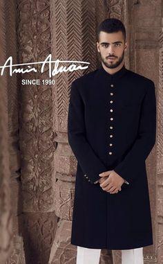 Image result for plain sherwani collection Mens Wedding Wear Indian, Mens Indian Wear, Wedding Dresses Men Indian, Indian Groom Wear, Wedding Dress Men, Indian Men Fashion, Mens Fashion Suits, Mens Suits, Men's Fashion