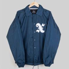 The X Blue Coach Jacket #Streetwear #fashion #xcvb