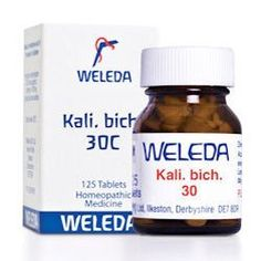 Weleda Kali Bich 30c 125 Tablets has been published at http://www.discounted-vitamins-minerals-supplements.info/2014/03/08/weleda-kali-bich-30c-125-tablets/