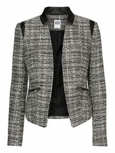 NELLA L/S BLAZER VERO MODA Holiday Countdown contest. Pin to win the style!