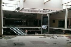 An abandoned mall in Akron, Ohio