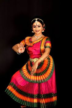 Indian dance from Kerala