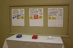 choice a number and place it in the box when all the numbers are sold open the box and find the winner