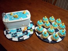 rubber ducky cakes   Rubber Ducky themed birthday party   Flickr - Photo Sharing!