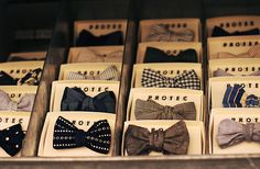 What #dapper guy doesn't want his own set of #bowties?