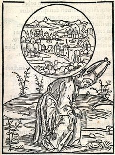 Of Too Much Care. This woodcut is attributed to the artist the Haintz-Nar-Meister. It is an illustration from the book Stultifera navis (Ship of Fools) by Sebastian Brant, published by Johann Bergmann in Basel in 1498. Special Collections, University of Houston Libraries (Public Domain).