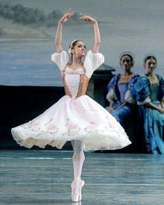 Copeland performs in Swan Lake with American Ballet Theatre