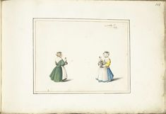 Gesina ter Borch, Two girls with a doll, ca. 1656 - Rijksmuseum, Amsterdam