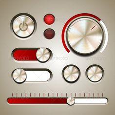 button/knobs