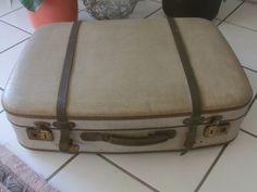 """Vintage Koffer - Vintage """"antiker Koffer aus den 50ern"""" - ein Designerstück von Manus-kleine-Vintage-Schatzkiste bei DaWanda"""