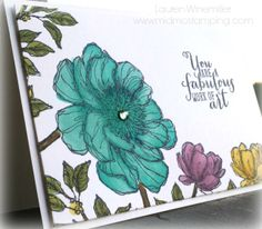 Stampin' Up! Bloom with Hope, Work of Art, Blendabilities details @ www.midmostamping.com