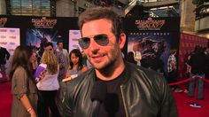 """Guardians of the Galaxy: Bradley Cooper """"Rocket"""" Red Carpet Movie Premiere Interview"""