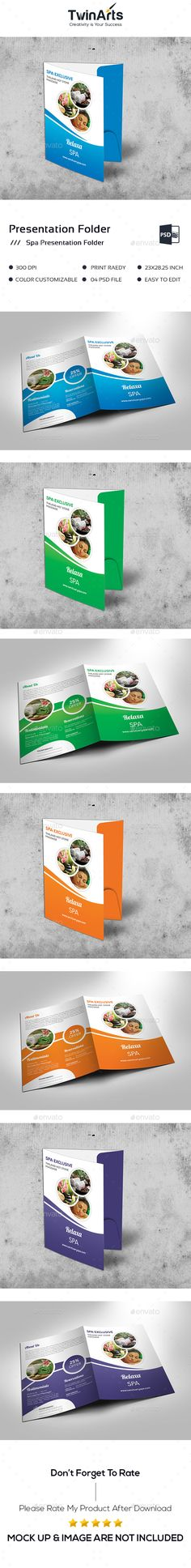 Spa Presentation Folder