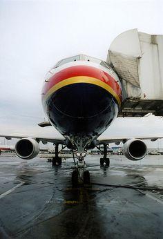 TWA Boeing 757 in St. Louis, MO.