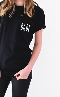 Babe Tshirt from NYCT