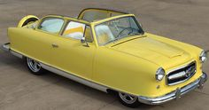 '53 Nash - Daddy had a similar car; it was his dream; rode to the pool every day in it